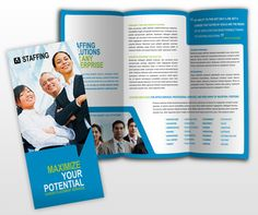 Cool Executive Search Firms Job Consultants Headhunter Brochure Samples