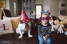 Photos: A Bulldog Is A Girl's Best Friend