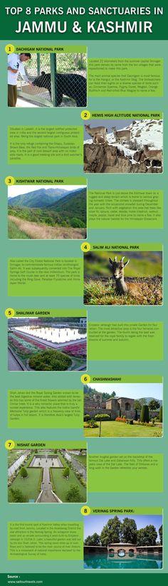 Top 8 Parks and Sanctuaries in Jammu & Kashmir