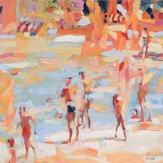 Poolside in Cuba. Elizabeth Lennie
