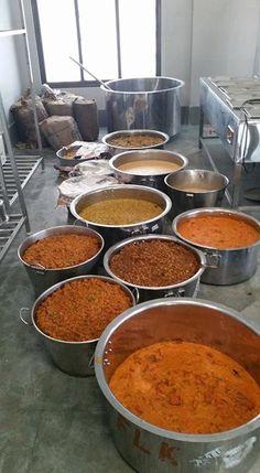 Inauguration of ISKCON Food Foor Life in Mayapur. Free food to 800 pilgrims at a serving. (Album with photos)  Srila Prabhupada…