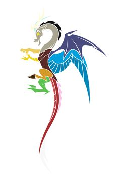 Discord Tattoo (COLOR) by Hexfloog.deviantart.com on @DeviantArt