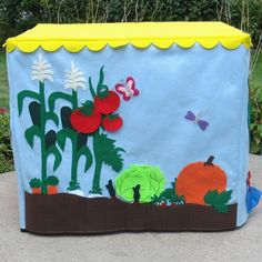 Farm Stand Card Table Playhouse Personalized door missprettypretty