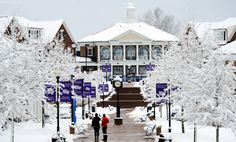 High Point University was hit with its second round of winter weather in one week.