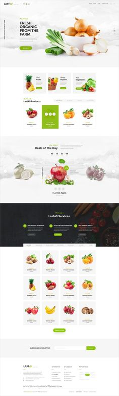 Last40 is a trending minimalist style PSD template for stunning #organic #vegetable shop eCommerce website with 4 homepage layouts and 15 organized PSD pages download now➩ https://themeforest.net/item/consultingpress-multi-niche-consulting-wordpress-theme/19378064?ref=Datasata