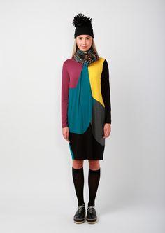Miun AW1415 collection Cool Photos, High Neck Dress, Collection, Dresses, Design, Women, Fashion, Turtleneck Dress, Vestidos
