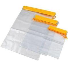 TRIXES 3 sacs étanches imperméables pour appareil photo téléphone portable iPad portefeuille porte-monnaie