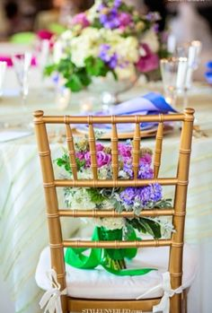 #Bright and #colorful #wedding #decor | Photo by: Alante Photography on Style Unveiled via Lover.ly
