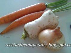 Las recetas de Ana: Sartén de cebolla, nabo y zanahoria