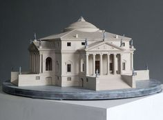 Villa La Rotonda is a Renaissance villa just outside Vicenza in northern Italy ; designed by Andrea Palladio who was inspired by the Pantheon in Rome to create this masterpiece... an oustanding reproduction to place carefully somewhere in your home... Sure this will add prestige to any Interior.