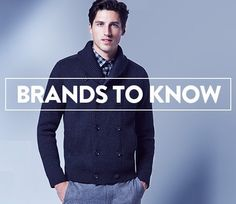 Men's fashion | Brands to know.