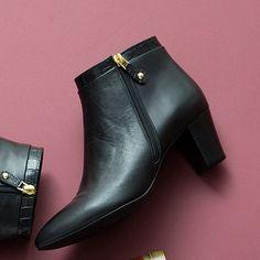 ブーツ(ジップデザインショートブーツ) | エレガンス卑弥呼(elegance himiko) | ファッション通販 マルイウェブチャネル[WW728-611-63-01]