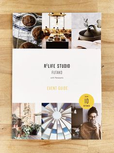 Re LIFE STUDIO Corporate Design, Booklet Cover Design, Banner Design Inspiration, Magazine Design Inspiration, Magazine Layout Design, Magazine Cover Design, Magazine Covers, Poster Art, Gig Poster