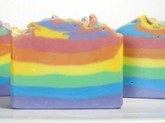 Rainbow Soap by Missouri River Soap