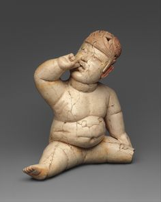 Baby Figure, Mexico, Mesoamerica, 12th–9th century BCE