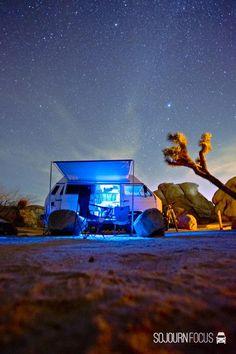 Westy in the desert