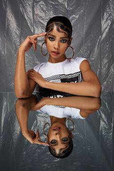 brieona cornelius on Behance Photoshoot Concept, Photoshoot Themes, Photoshoot Makeup, Photoshoot Inspiration, Vogue Photoshoot, Studio Photography Poses, Creative Portrait Photography, Beauty Photography, Editorial Photography