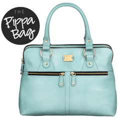 the Modalu Pippa bag, comes in other colors but I enjoy this fresh springy blue.  By Modalu London.