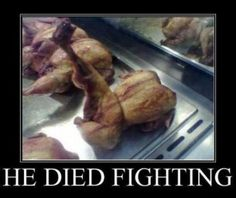 funny photos, chicken died fighting, chicken with one leg sticking up<---Everybody was kung foo fighting, lol. Funny Cute, Haha Funny, Funny Memes, Funny Stuff, Funny Shit, That's Hilarious, Random Stuff, Freaking Hilarious, Super Funny