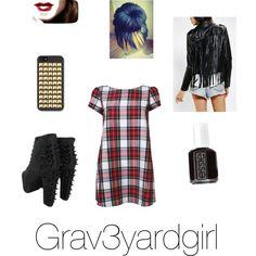 Grav3yardgirl inspired look