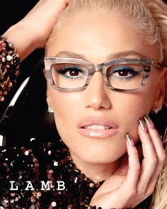 Gwen Stefani's Glasses-Wearing Son Zuma Inspired Her New Eyewear Collection: 'He's So Proud! Fashion Eye Glasses, Cat Eye Glasses, Cute Glasses, Glasses Frames, Eyeglasses For Women, Sunglasses Women, Red Eyeglasses, Lunette Style, Glasses Online