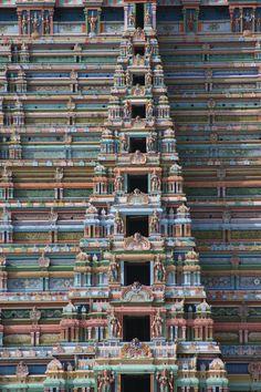 Gopuram in Southern India