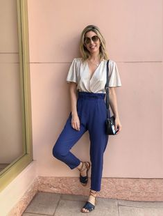 Look Casual Chic, Look Chic, Casual Looks, Casual Chic Summer, Trendy Outfits, Summer Outfits, Fashion Outfits, Casual Chic Outfits, Fashion Edgy