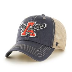 af8bb184335a2 Auburn Tigers Montana Vintage Navy 47 Brand Adjustable Hat