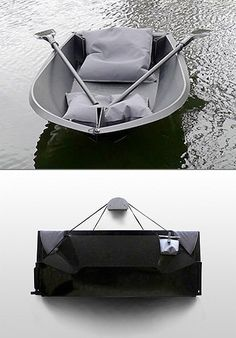 Foldboat 'Boat 1′ is made from a single sheet of plastic and folds into an easy to carry pack measuring 1m,50 by 60cm; This allows it to be easy to store and transport. Boat 1 is extremely accessible, easy to transport and very low maintenance