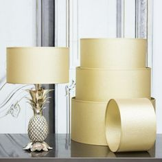 Gold Solaris Shades - View All Lighting - Lighting - Lighting & Mirrors