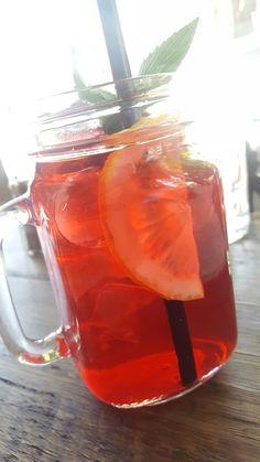 Egyptian Rose Iced Tea!