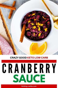 This Sugar Free Low Carb Cranberry Sauce has simple real food ingredients that are low carb and keto friendly! Perfect for Thanksgiving, Christmas, or any time you are serving turkey. Gluten-free, and Freezer-Friendly. #kickingcarbs #cranberrysauce #keto #ketorecipes #ThanksgivingFood #Christmas Gluten Free Thanksgiving, Thanksgiving Recipes, Holiday Recipes, Dinner Recipes, Keto Holiday, Christmas Holiday, Low Carb Recipes, Real Food Recipes, Free Recipes