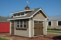 1000 images about backyard garden storage sheds on for Craftsman style storage sheds