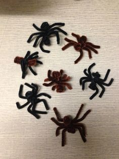 How to Make a Pipe Cleaner Spider
