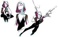 Spider-gwen is cool
