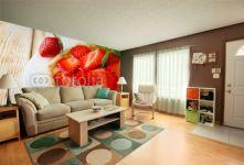 Fototapeta Deser, Panel szklany Deser, Fototapety Deser, Plexi Deser, tartlet with fresh berries