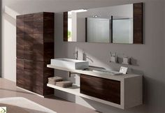 Looking for great bathroom ideas and inspiration for your bathroom renovation? The trend of contemporary bathroom designs is scaled down, mi. Contemporary Bathroom Designs, Best Bathroom Designs, Bathroom Design Small, Bathroom Interior Design, Bathroom Ideas, Bathroom Cost, Kabine, Bathroom Flooring, Beautiful Bathrooms