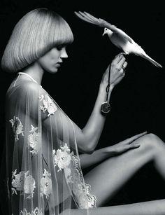 Heidi Silmane for Vogue Paris.