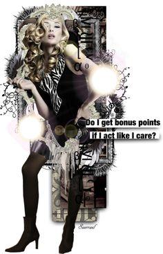 """Bonus Points, Please."" by saerrael ❤ liked on Polyvore"