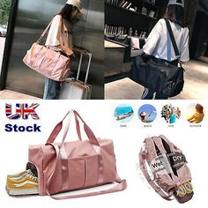 Lady Large Overnight Travel Weekend Hand Luggage Maternity Hospital Bag Handbag   eBay Carry On Suitcase, Carry On Luggage, Best Packing Cubes, Pregnancy Hospital Bag, European City Breaks, Travel Bottles, Cities In Europe, Hand Luggage, Leather Luggage