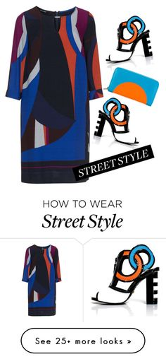 """""""Street style"""" by makeup-queen-anna on Polyvore featuring Elena Mirò, Kat Maconie and Kenzo"""