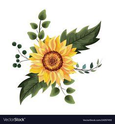 Sunflower Drawing Beautiful Sunflower Drawing 67 on by Sunflower Drawing Sunflower Drawing, Watercolor Sunflower, Floral Watercolor, Sunflower Stencil, Pencil Drawings, Art Drawings, Sunflower Illustration, Illustration Flower, Sunflower Design