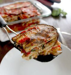 Chicken-Eggplant Lasagna (GF, Dairy Free, Paleo-Friendly) – plentytude