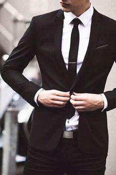 Men in black suits