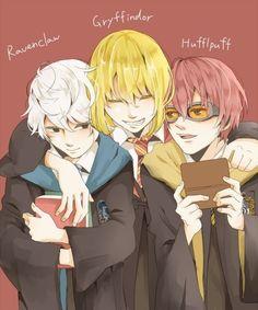 Wammys boys Hogwarts! So much yes!