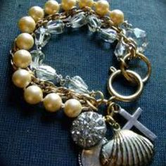 Bridesmaid gift idea customized bracelets