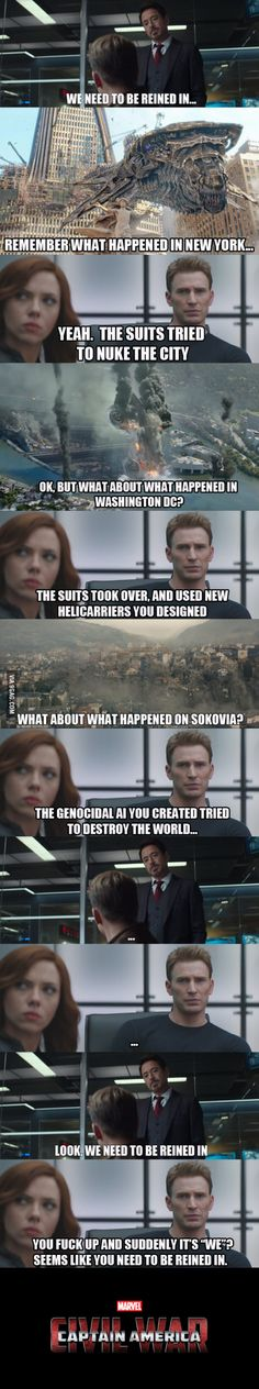 Civil War Logic.