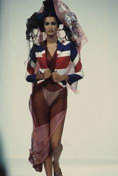 John Galliano Spring 1993 Ready-to-Wear Collection Photos - Vogue