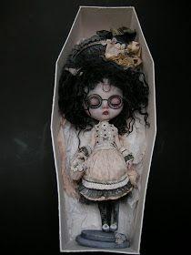 vampire Blythe custom doll