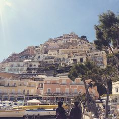 Positano- the vertic